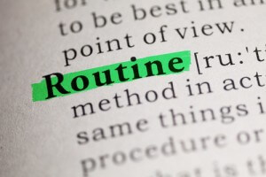 routine.green highlight