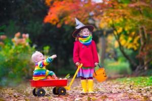 Halloween kids wagon